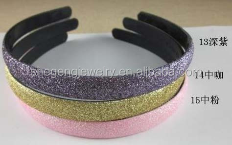 13mm Womens Girls Alice Glitter Headband