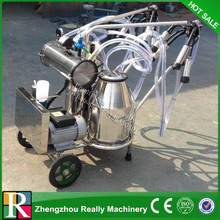 vacuum pump double bucket cow milking machine price in india