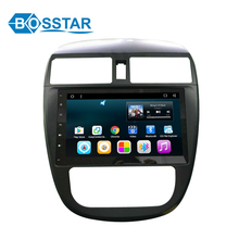 Gps navigation pioneer car audio android6.0 TIIDA 2016 radio dvd with wifi rearviw camera