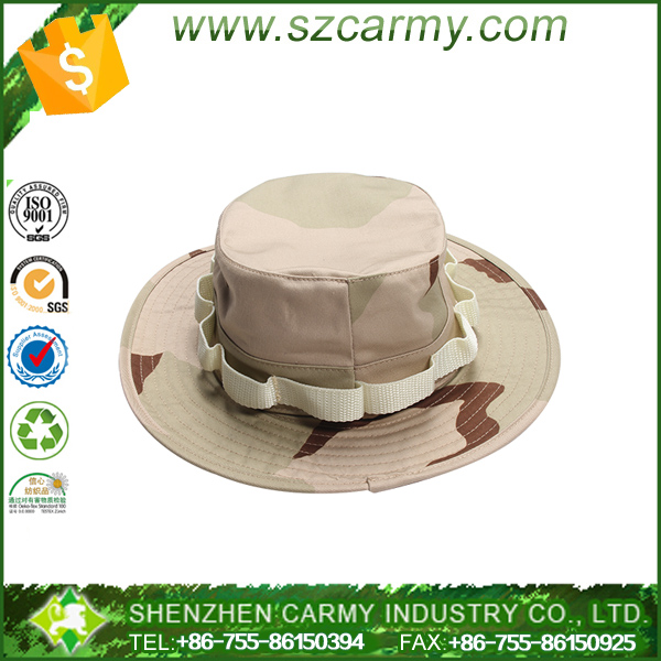 100% cotton ripstop officer 3 desert camouflage USMC Marine military style cap
