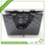 Black cheap shopping non-woven coated hand bags