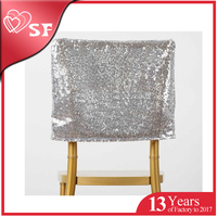 Fancy Style sequine Cover cap for chair