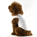 Wholesale high quality hot-selling pet dogs blank vest ,plain T-shirt for small/medium dogs