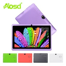 Top Selling big speaker android dual core 7 inch bluetooth dual camera Wifi tablet Q88D