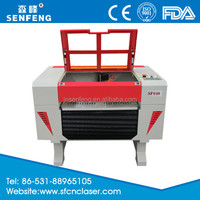 China co2 laser engraving machine names of musical instruments SF6040E price