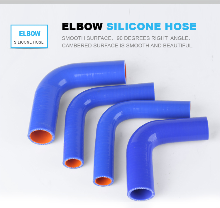 high performance anti-aging colored silicone tubing for automitive