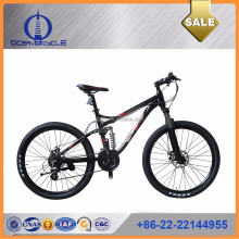 "Hot Sale 26"" Aluminium Alloy frame 24speed Full suspension mountain bicycles/bikes made in china"