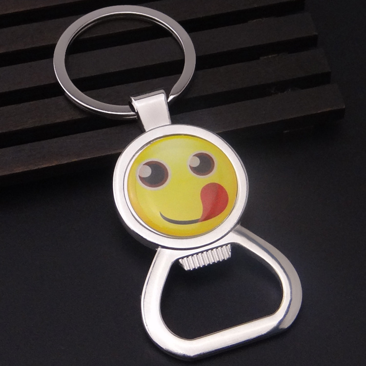 Factory wholesale 3D carton keychain in key chains shape as promotion gifts