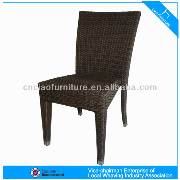 Antique UK style furniture resin rattan restaurant chair