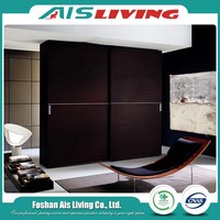 New product most popular luxury l shape wooden wardrobe