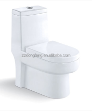 American standard Ceramic one-Piece Siphonic WC Toilet seat/Bathroom MJ-43