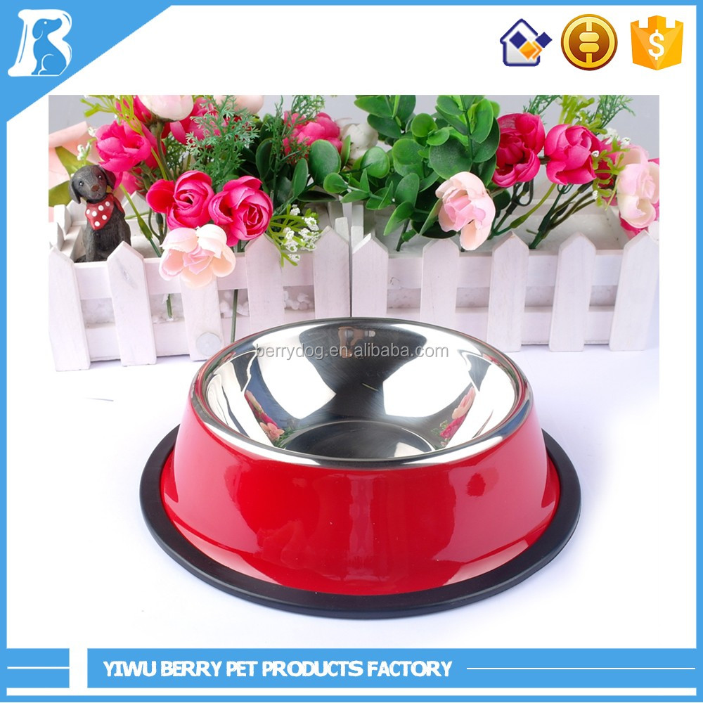 Alibaba China Wholesale Stainless steel pet feeding bowls