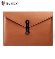 high quality soft genuine leather laptop sleeve for apple macbook pro laptop macbook air wheeled laptop