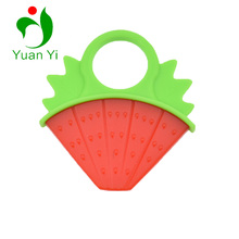Wholesale Cute Chewable Food Grade Silicone Baby Chewable Beads Teether