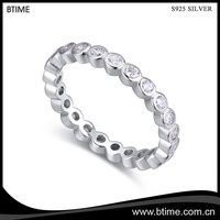 Trendy Fashion Beautiful Shining Sterling Silver