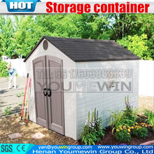 china metal garden storage shed, steel structure prefabricated warehouse, grain storage container