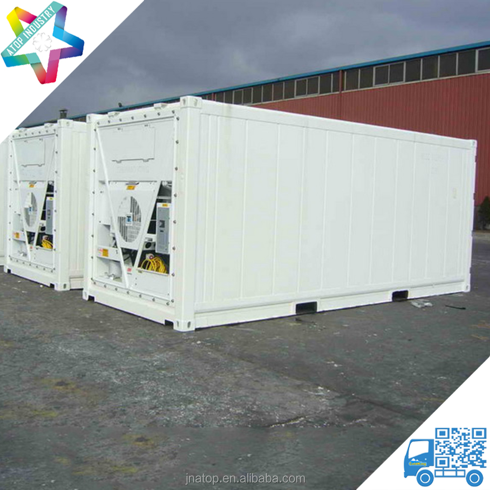 CIMC 20ft reefer & insulated container Thermo King refrigeration unit sea container 20ft reefer container