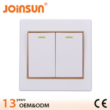 Good design 86*86mm electrical wall switches
