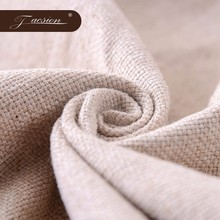 Super Soft Upholstery Cotton Linen White Linen Ramie Fabric