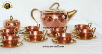 Brass Copper Tea / Coffee Service Set