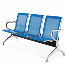 Metal steel 3-seater price airport bench chair YA-19