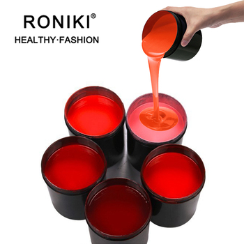 RONIKI Wholesale Factory Price Nail Art Products Soak Off Uv Led Raw Material For Nail Polish