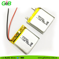 Rechargeable 503030 3.7v 420mah 450mah polymer li-ion battery for recorder, Tracker, Emergency lighting