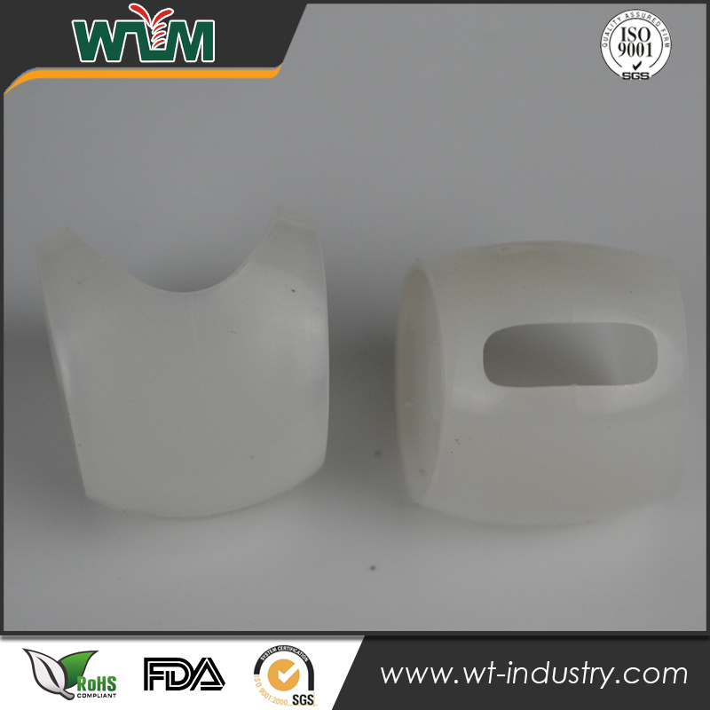 White plastic parts mouldings mold for fishing bait made in China