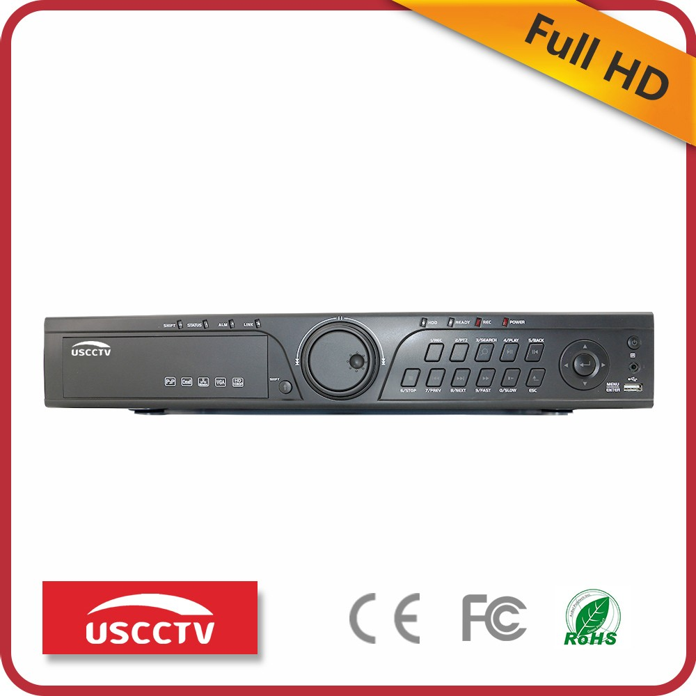 USC cctv hdmi dvr recorder h 265 full d1 dvr 32ch hd dvr