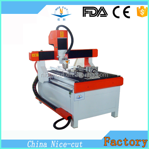 NC-6090 mini woodworking cnc machine carving cnc wood router cutter