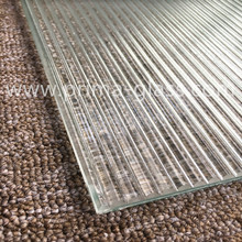 Prima Custom Textured Directional Reeded Glass
