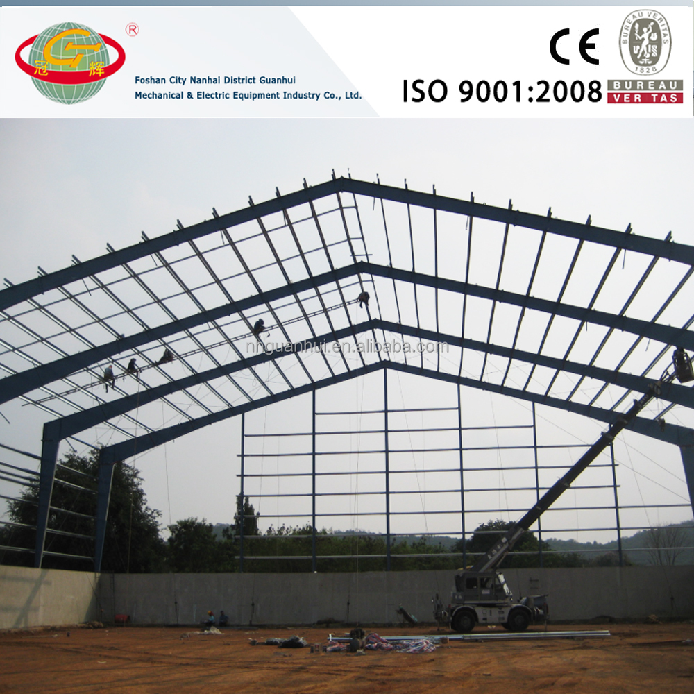 Clear roofing wandwich panel dry goods storage warehouse