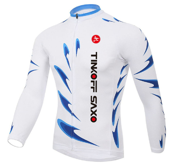 Tinkoff and Martin Fox Custom Jersey Cycling cloting cycling jerseys Custom sublimation bike jerseys cycle Winter long clothing