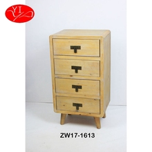 Fir Wood Custom Shallow small Drawer Cabinet furniture