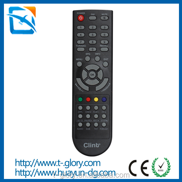 Custom infrared remote control for videocon tv