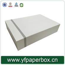 Foldable new style paper box for T-shirt,dress packaging
