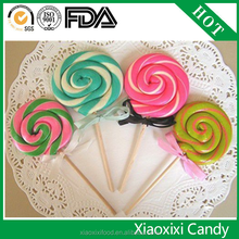LOLLY POP CANDY handmade multicolor rounded lollipop