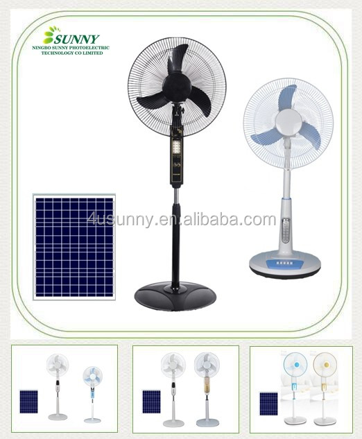 High Speed 1250rpm Indoor and Outdoor Used DC Solar Retro Style Quiet Floor Stand Fan