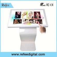 Refee Interactive touch panel,remote control jewelry shopping mall showcase kiosk
