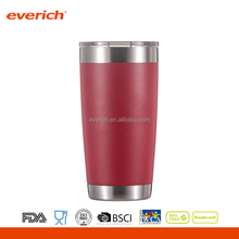 20oz customized color thermal stainless steel tumbler power coating