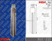 car flip key blade/international size/iron material