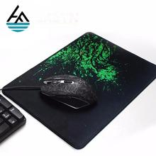 Wholesale customised 3m small designer cheap laptop black mouse pads