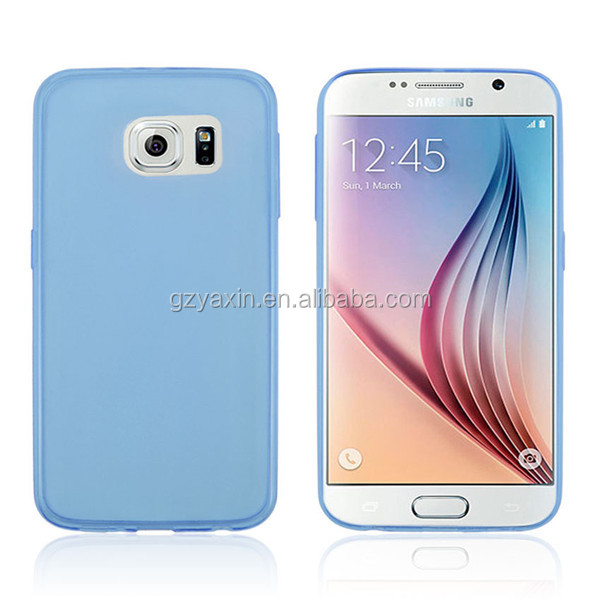 For s6 edge case,stylish tpu gel case cover for samsung galaxy s6 edge G925