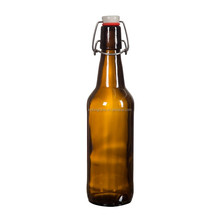 Home brewing used 500 ml Swing Top Amber Glass Beer Bottle