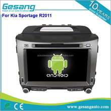 Android double Din Car Navigation for Kia Sportage R2011 , Auto car Radio With Bluetooth, Autoradio 2 Din Dvd Gps
