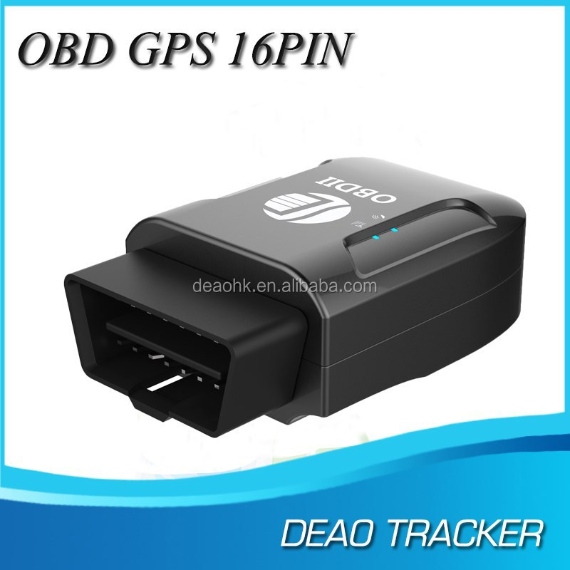 Bluetooth obd ii gps gsm tracker tk206 real time monitor