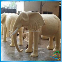 Durable garden theme stone elephant