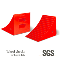 FD-00010-2 For mining and construction haul trucks & support equipment heavy duty Trailer wheel Chocks