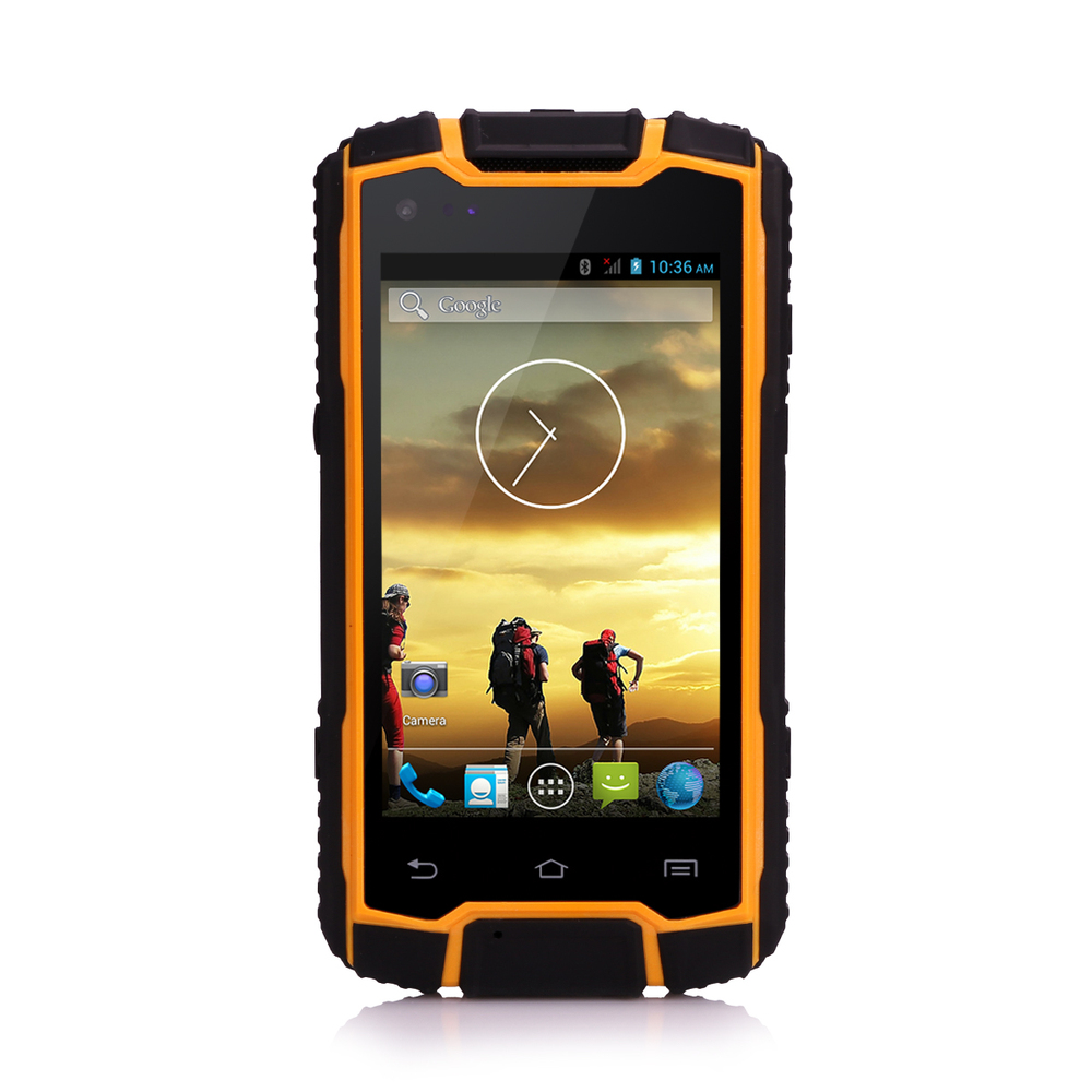 4inch quad core Waikie-Talkie rugged mobile phone handheld transceiver