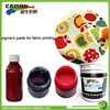 free samples Water based pigment dispersion for neon fabric coloring